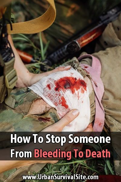 You've seen in the movies where people put pressure on wounds or make tourniquets, but how does this work? Here's how to stop the bleeding.