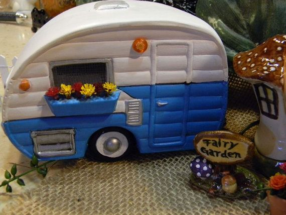 17 Best Images About Fairy Garden Trailers On Pinterest