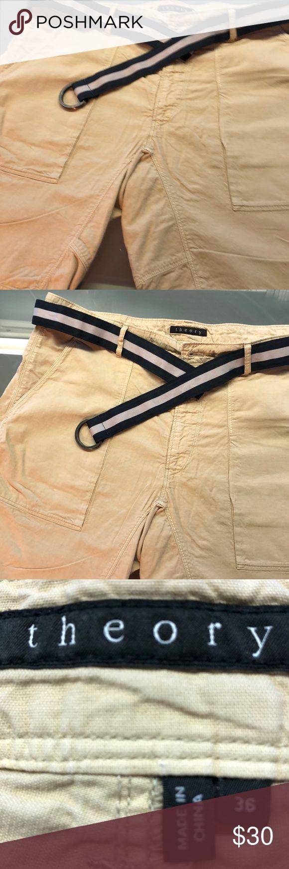 Theory Sommer Shorts mit flacher Vorderseite, einmal getragen von New Too Big für mich …   – My Posh Picks