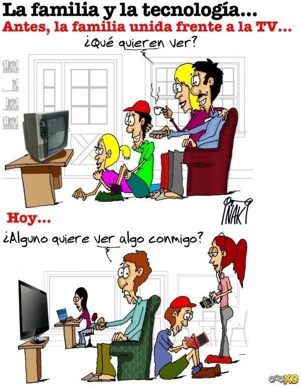 La familia y la tecnología
