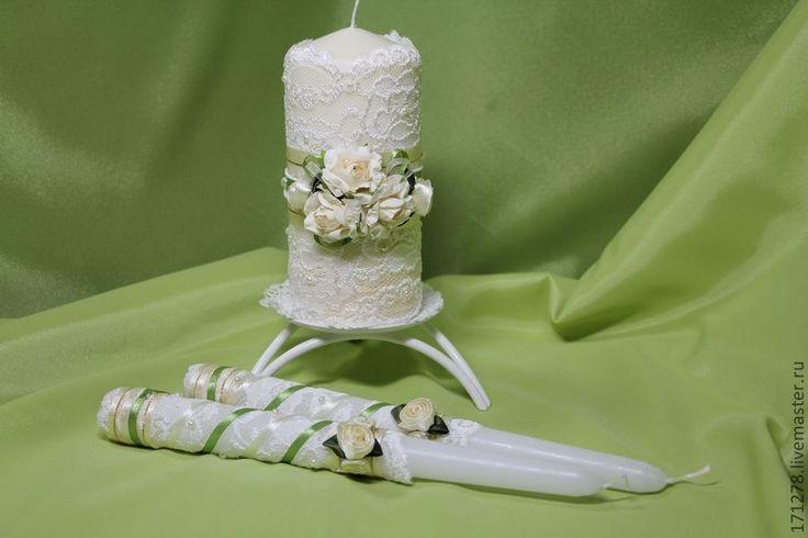 Купить Свечи Домашний очаг (арт. 0001) - Готовимся к свадьбе, свадебные аксессуары, свадебные свечи
