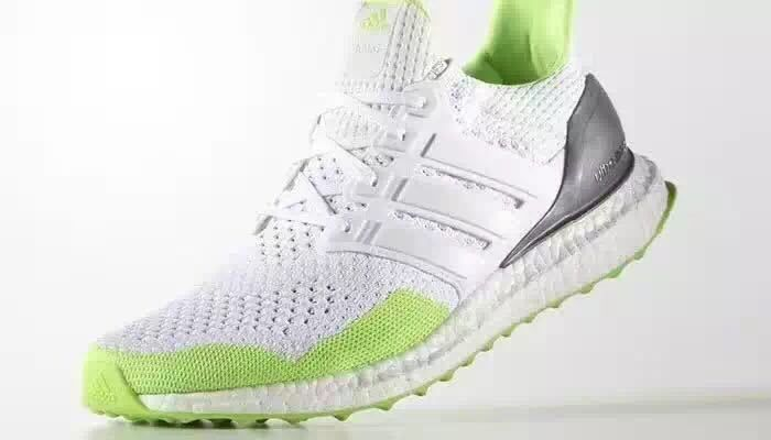 53a6d4623 2017 UK Trainer Adidas Ultra Boost Kolor White Solar Green Gold Metallic  S77419
