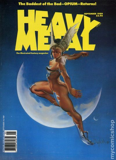 Heavy Metal Magazine (1977) comic books