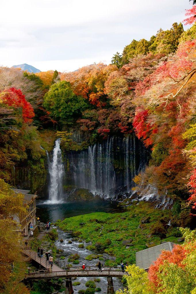 Autumn, Shiraito Falls, Fujinomiya, Japan