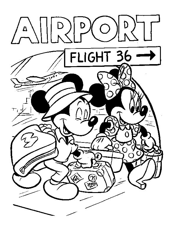 keep kids busy on flight or in airport while en route to florida for your disney trip gets them excited walt disney world activity coloring pages
