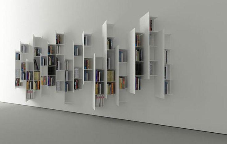 βιβλιοθήκες Η μινιμαλιστική βιβλιοθήκη