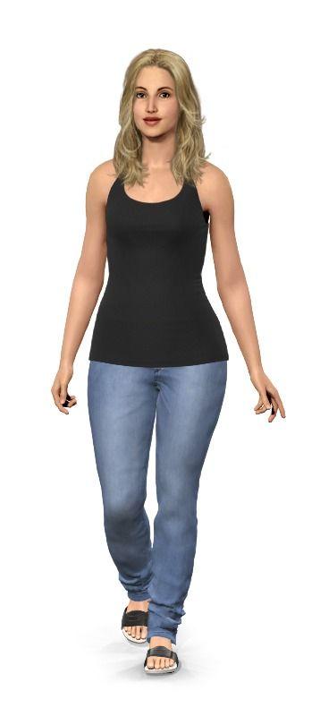 what would i look like skinny virtual