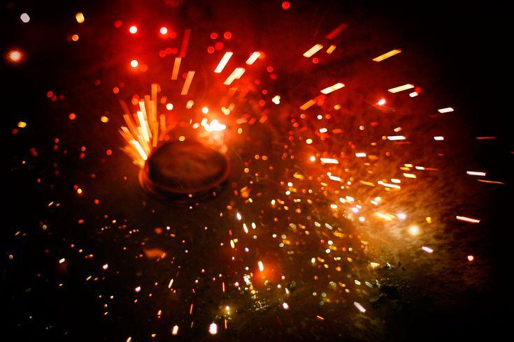 Sparks fly in Diwali celebrations