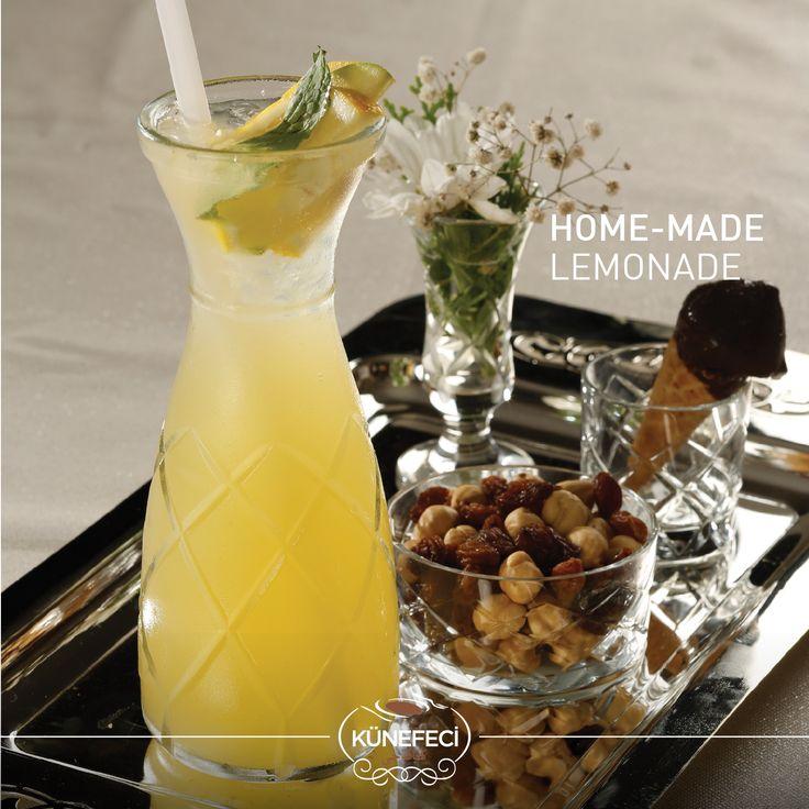 Like a Cool Turkish Breeze: ''Home-Made Lemonade'' #weekend #sunday #holiday #lemonade #Turkish #original #natural #Künefeci #kunefe #kanafeh #Bahrain #SaudiArabia. #pinterest