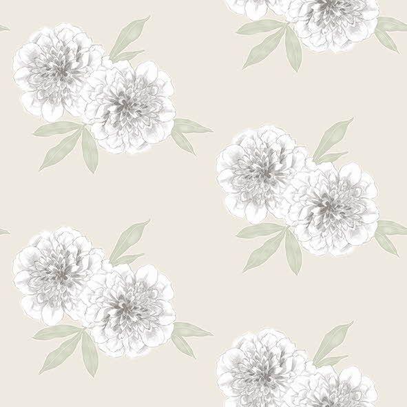 Borås Tapeter Garden Party  tapettimallistossa hehkuvat hienovaraiset kukka-aiheet ihanasti vesivärityylisesti toteutettuna. Malli 3476. Värisilmä tapetti www.varisilma.fi