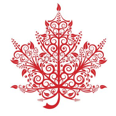 Maple Leaf Royalty Free Stock Vector Art Illustration