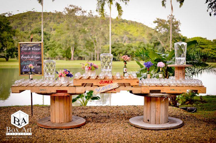 Mesa de dulces vintage una hermosa idea bodas for Ideas para boda en jardin