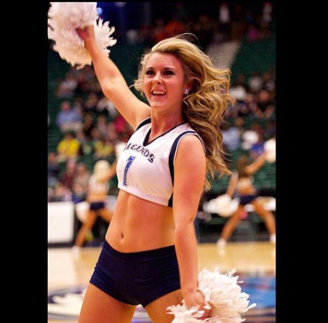 Texas Legends Dancer Morgan!