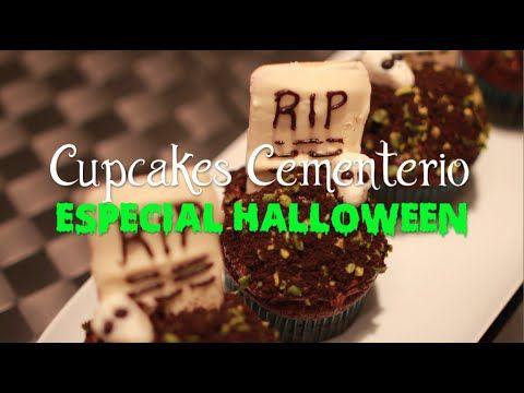 Cupcakes Cementerio de Chocolate - Especial Halloween #carolinasplajoseginer