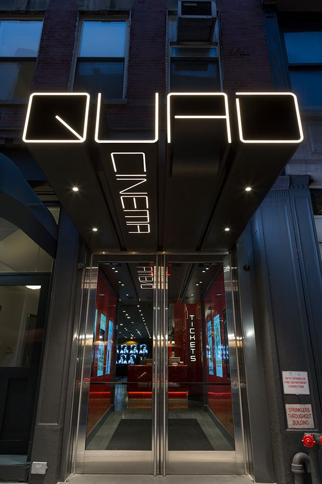 Quad CinemaNew York's first multiplex reopens with a stunning new design.