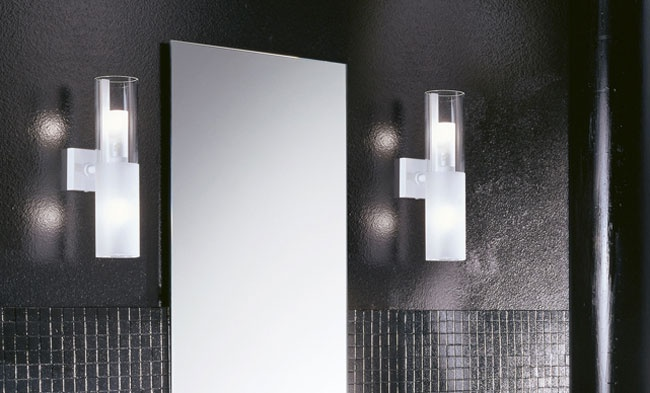 Wall Sconces Next To Mirror : 17 Best images about Bathroom Lighting on Pinterest Bathroom lighting, On the side and Led strip