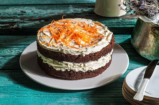 Carrot Cake με κακάο
