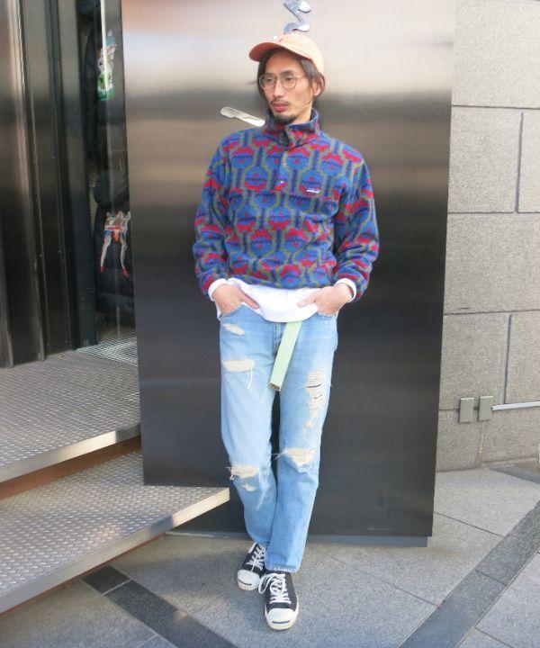 今日のスタイリングはまんま90'sです。ラルフローレンのキャップに雪なしパタゴニアスナップT、ダメージデニムに90'sUSAジャックパーセル。往年のBOONスタイルです。世代です(笑)。強いて言うならトップスのサイズ感がタイトフィット。ギリギリ古い人には見えてないかと。今日の朝、とりあえずあった服を着てきた感じでしたが結構イイ感じの出来上がりになりました!考えない方がしっくりくる…そんな事も...