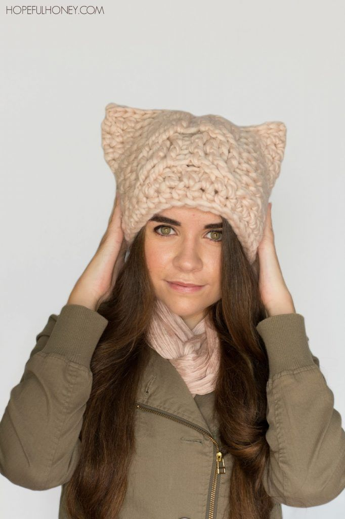 Chunky Cabled Cat Hat Crochet Pattern Free Crochet Crochet And Custom Cat Hat Crochet Pattern