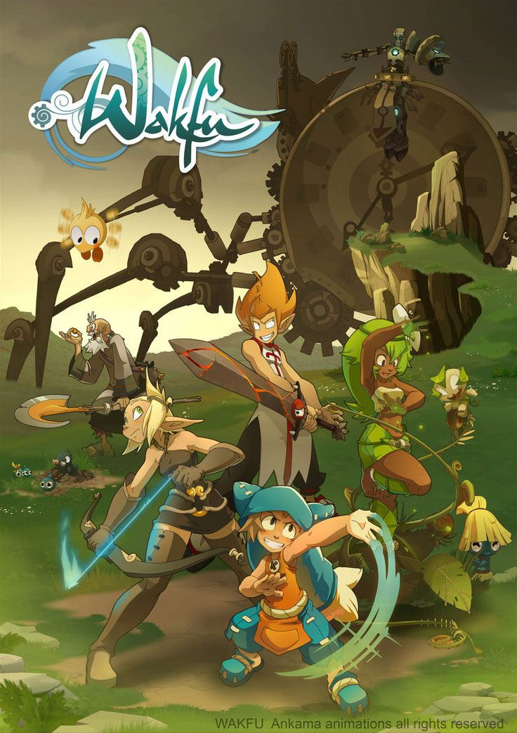 Wakfu (2010): This is a French animated series by Ankama, based on an MMORPG by the same name.  Pretty cool anime-inspired action sequences and humor.  Click to see the Season 2 opening titles; entire episodes are sadly hard to find online.  I was able to watch a few thanks to a classmate of mine who worked on it a while back.