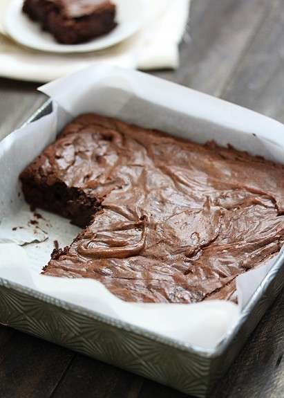 Home made fudge brownies ((recipe copied))