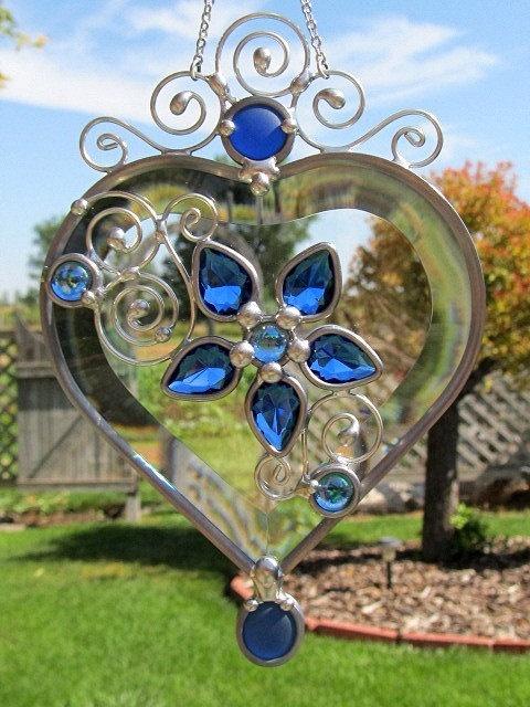 Beveled Glass Heart