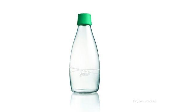 Picture of Retap sklenená fľaša na vodu 800ml -rôzne farby
