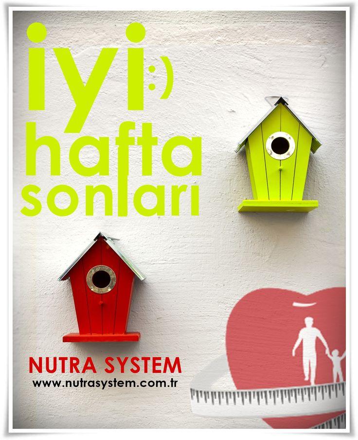NUTRA SYSTEM GÜZEL BİR HAFTA SONU GEÇİRMENİZİ DİLER :)  http://www.nutrasystem.com.tr/