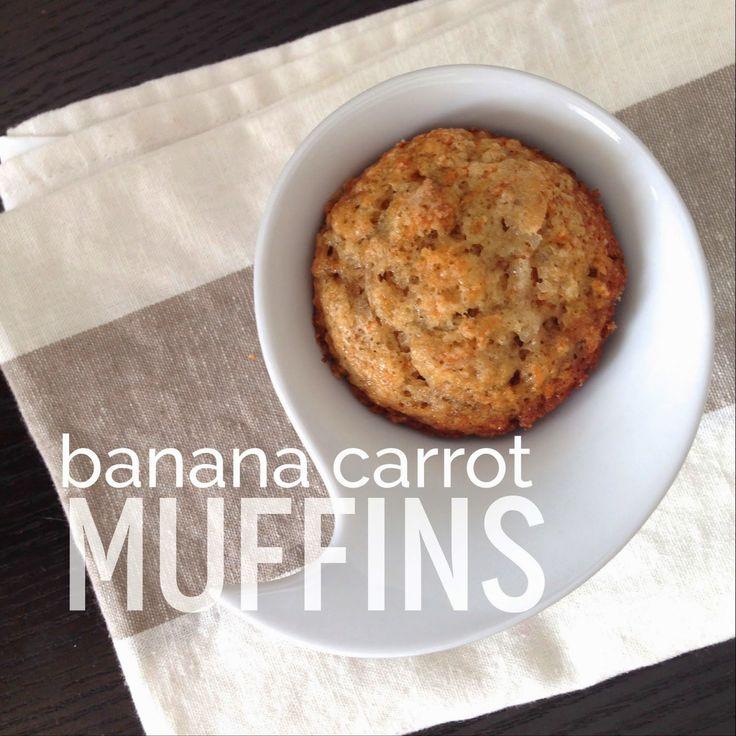 Edible Life in YYC: Banana Carrot Muffins