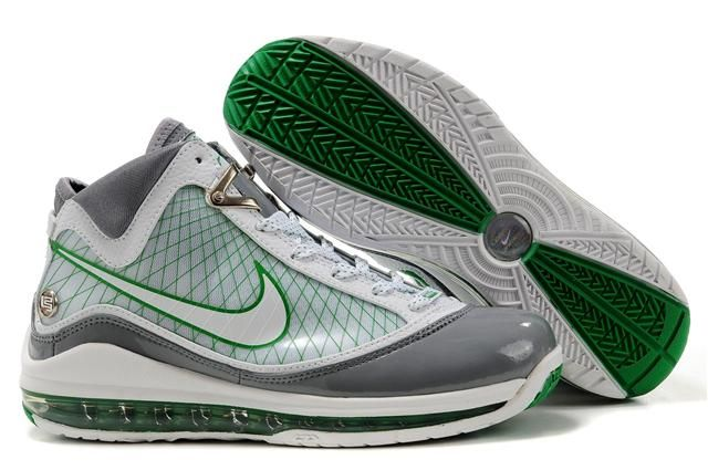 http://www.airfoamposite.com/nike-lebron-7-white-grey-green-p-314.html NIKE LEBRON 7 WHITE GREY GREEN Only $85.68 , Free Shipping!