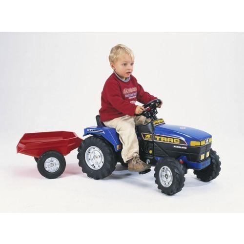 Falk Tractor Farm Albastru - http://www.outlet-copii.com/outlet-copii/jucarii-copii/falk-tractor-farm-albastru/ -