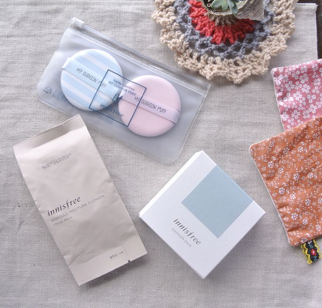 My Cushion by Innisfree - Old vs New Comparison & 2017 New Releases