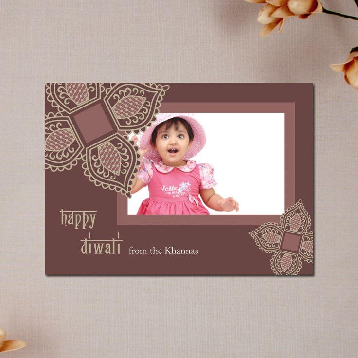 Diwali Photo Card - Diwali Lace #SoulfulMoon