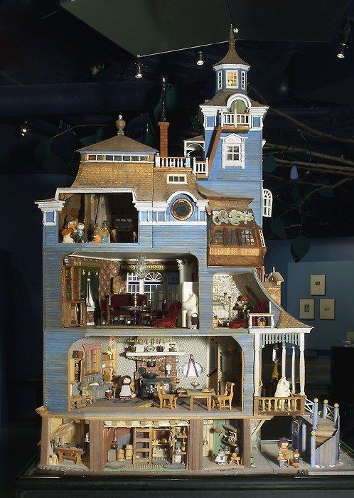 But Jansson also built her own Moomin House. | 24 Things You May Not Know About The Moomins