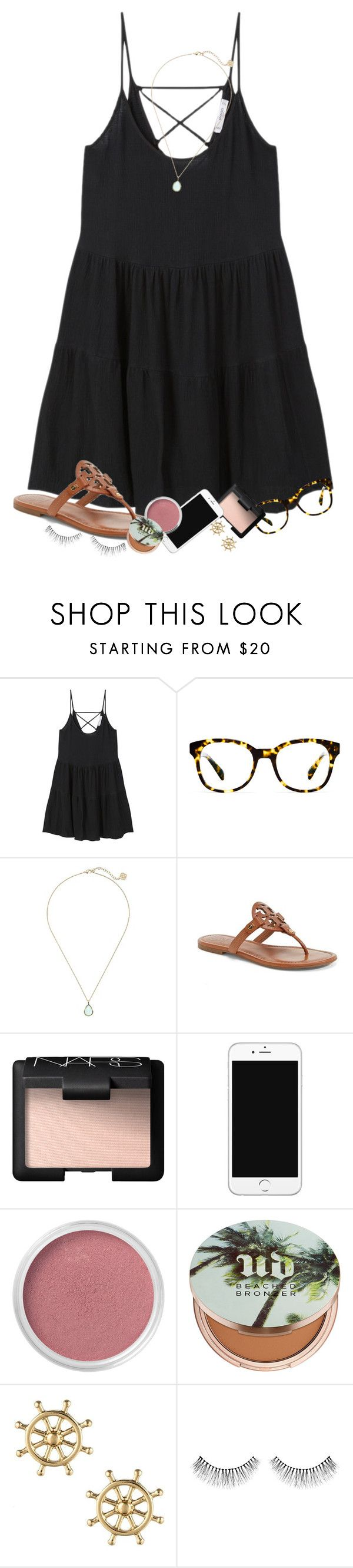 """""""I made it through the first week of school"""" by erinlmarkel ❤ liked on Polyvore featuring MANGO, Warby Parker, Kendra Scott, Tory Burch, NARS Cosmetics, Bare Escentuals, Urban Decay and Sperry"""