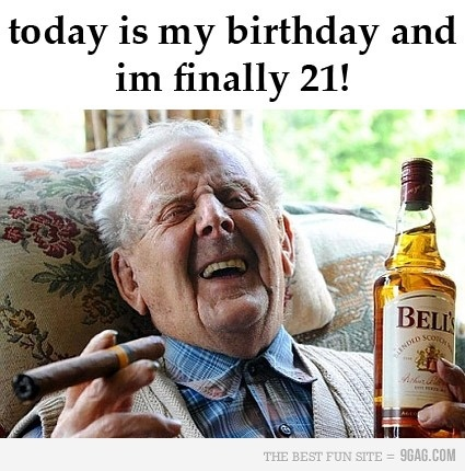 Leapyear birthday. too funny.