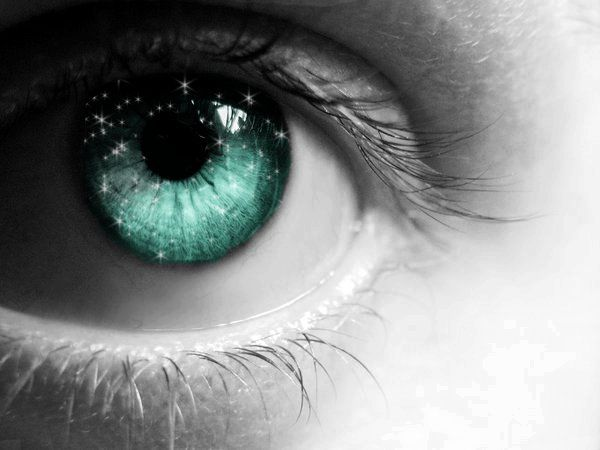 how to change your eye color to turquoise