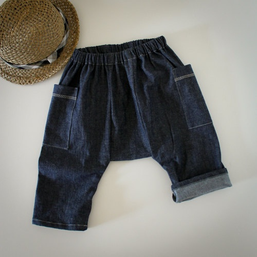 crinkled capri pants by smallville on Etsy, $35.00