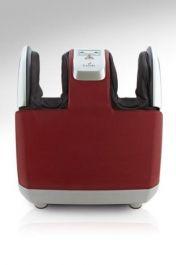 CANOO III to rewelacyjny masażer łydek i stóp. Ciekawa konstrukcja urządzenia pozwala na korzystanie z niego podczas odpoczynku na swoim ulubionym fotelu czy przerwie w pracy przy biurku. Dzięki zastosowanym systemom masażu ugniatającego, wibracyjnego oraz kompresyjnego w pełni można zrelaksować nawet najbardziej zmęczone łydki i stopy. Codzienne korzystanie z masażera korzystnie wpływa na krążenie poprzez pobudzenie do lepszego funkcjonowania.