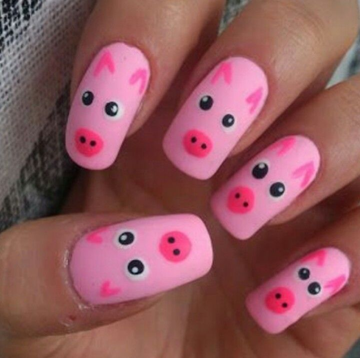 15 Pretty and Cute Pig Nails 2015 . - 16 Best Pig Nails Images On Pinterest Pig Nails, Pig Nail Art