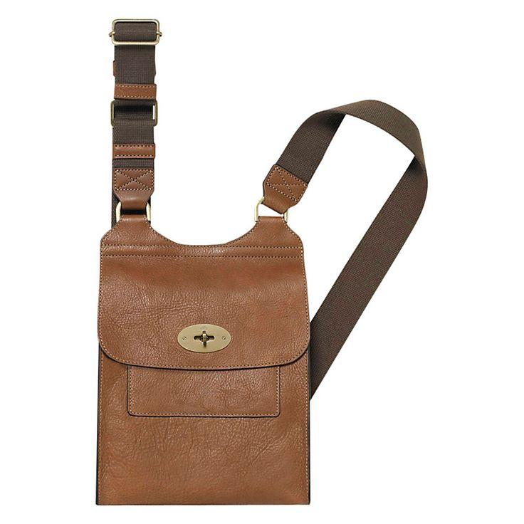 Buy Mulberry Antony Leather Satchel Bag   John Lewis