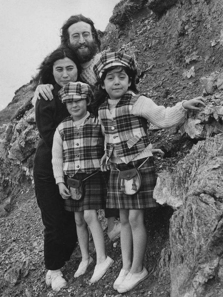 Yoko Ono John Lennon Kids 78 best images ...