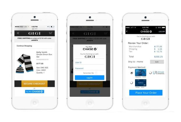 Chase Tests Quick Checkout Option for Online, Mobile Shopping - MyBankTracker.com