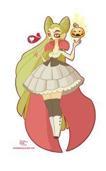 Halloween Doodle: Vampire by MeoMai