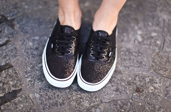 Vans Authentic Glitter Sneakers