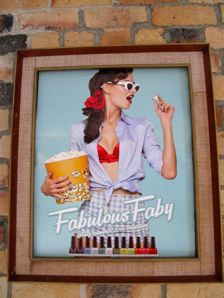Fabulous FABY girl up and on display!