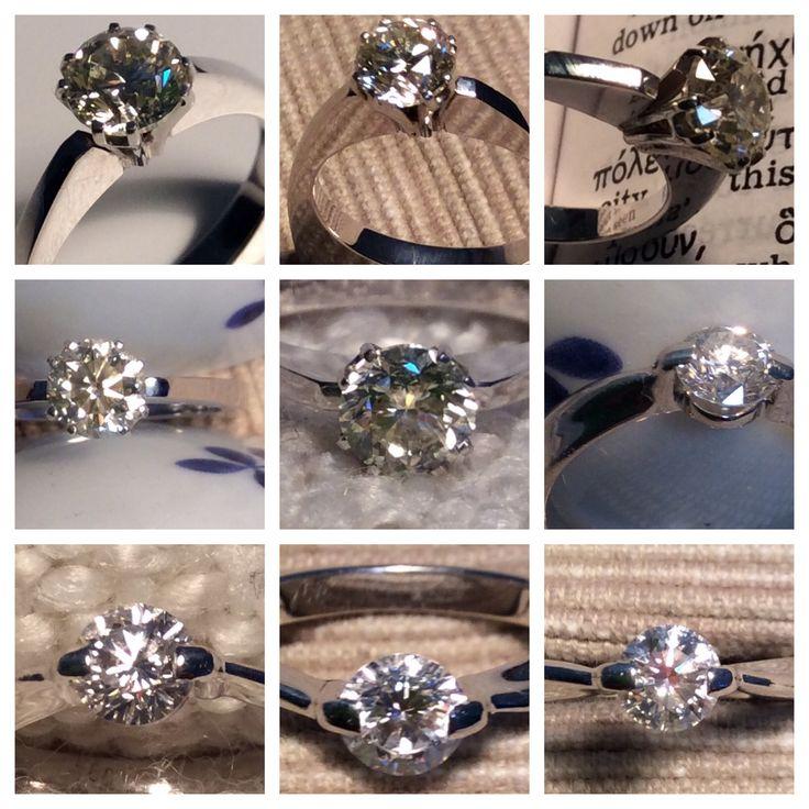 Diamond rings from EARL PEARL - Бриллиантовые кольца www.earlpearl.com
