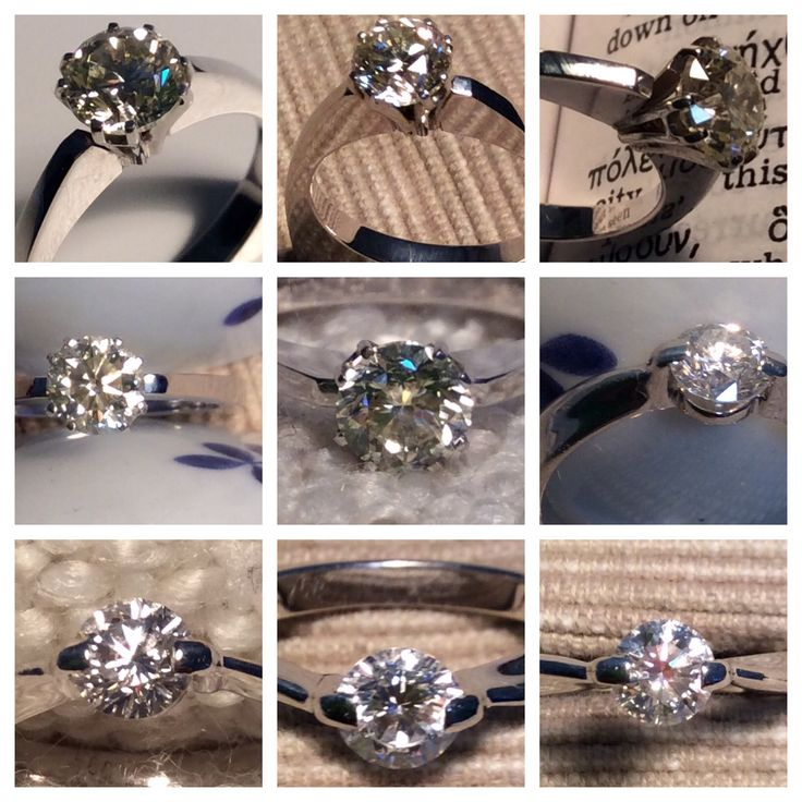 Diamond rings from EARL PEARL - Бриллиантовые кольца www.earlpearl.com