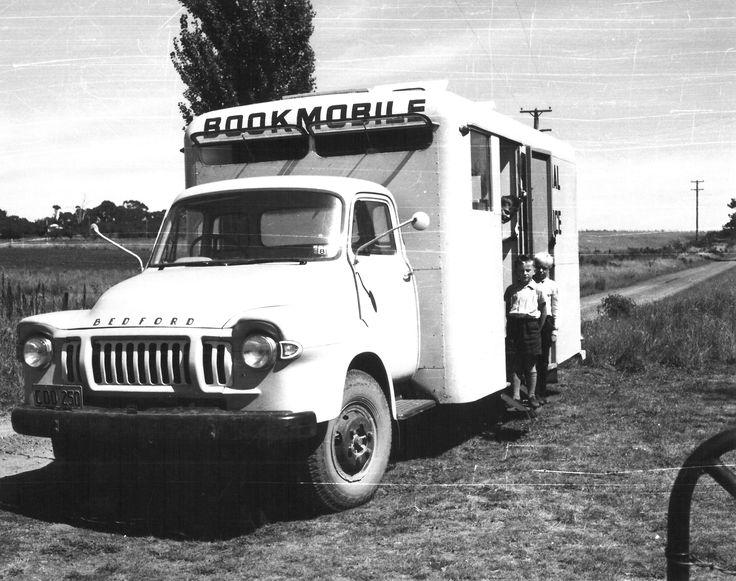 Orange Regional Library Bookmobile on the road