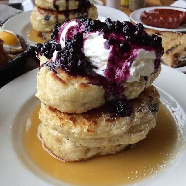 Here are the 10 Best Pancakes in Toronto. Nowadays brunching is like a competitive sport, so no wonder Toronto establishments are stepping up their pancake game. It really is the original breakfast or brunch dish, especially when topped with whipped cream, fresh fruit, or chocolate chips. That golden exterior combined with the soft and fluffy interior makes for quite the meal. Brace yourselves and take a look at the 10 Best Pancakes around Toronto!